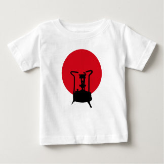 Flag of Japan | Vintage Pressure Stove Baby T-Shirt