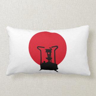 Flag of Japan | Vintage Pressure Stove Lumbar Pillow