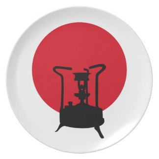 Flag of Japan | Vintage Pressure Stove Plate