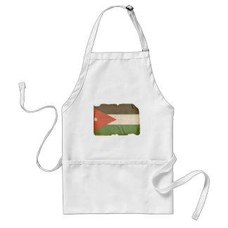 Flag of Jordan Adult Apron
