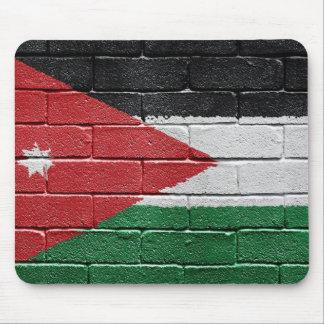 Flag of Jordan Mouse Pad
