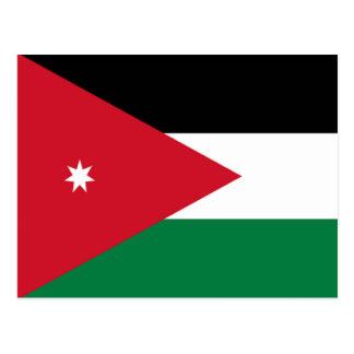 Flag of Jordan Post Cards