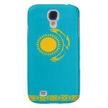 Flag of Kazakhstan Galaxy S4 Cases