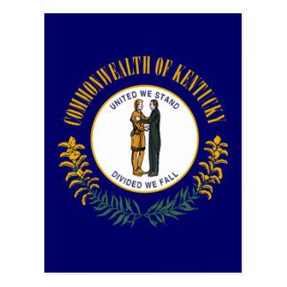 Flag_of_Kentucky Postcard