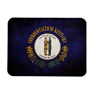 Flag of Kentucky Rectangular Photo Magnet
