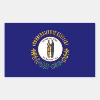 Flag of Kentucky Rectangular Stickers
