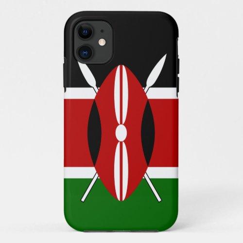 Flag of Kenya Bendera ya Kenya Phone Case
