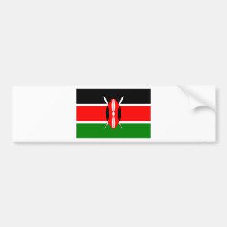 Flag of Kenya Bumper Sticker