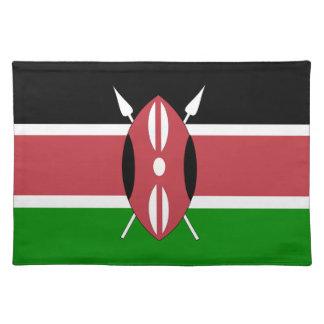 Flag of Kenya Cloth Placemat