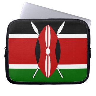 Flag of Kenya Laptop Sleeve