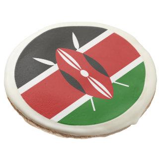 Flag of Kenya Sugar Cookie