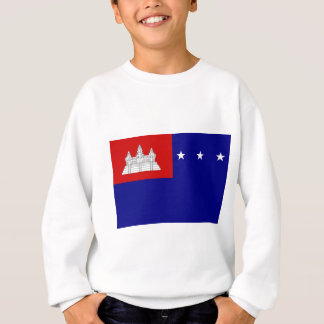 Flag of Khmer Republic (សាធារណរដ្ឋខ្មែរ) Sweatshirt