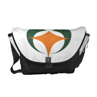 Flag of Koga, Shiga, Japan Courier Bag