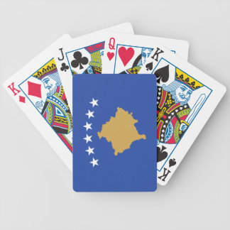 Flag of Kosovo Bicycle Playing Cards