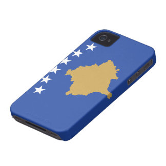 Flag of Kosovo iPhone 4 Cases