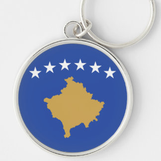 Flag of Kosovo Keychain