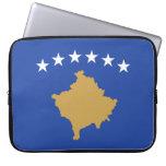 Flag of Kosovo Neoprene Laptop Sleeve