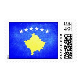 Flag of Kosovo Postage Stamp