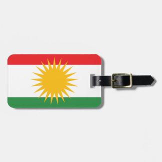Flag of Kurdistan (Alay Kurdistan or Alaya Rengîn) Bag Tag