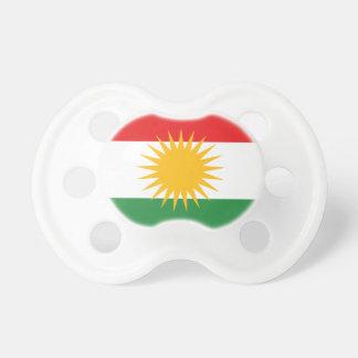 Flag of Kurdistan (Alay Kurdistan or Alaya Rengîn) Pacifier