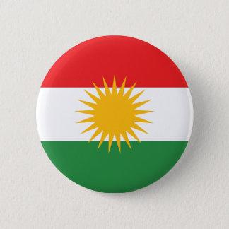 Flag of Kurdistan; Kurd; Kurdish Pinback Button