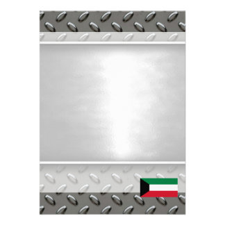 "Flag of Kuwait 5"" X 7"" Invitation Card"