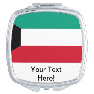 Flag of Kuwait Vanity Mirror