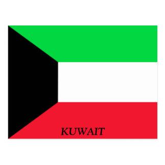 Flag of Kuwait Postcard