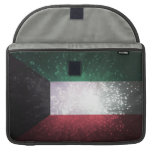 Flag of Kuwait Sleeves For MacBook Pro