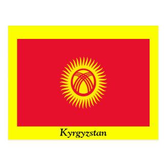 Flag of Kyrgyzstan Postcard