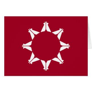Flag of Lakota Pine Ridge Card