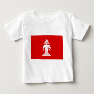 Flag of Laos (1952-1975) - ທຸງຊາດລາວ Baby T-Shirt