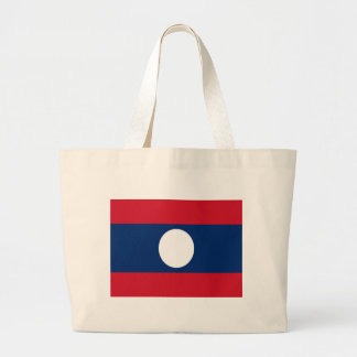 Flag of Laos Jumbo Tote Bag