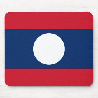 Flag of Laos - Laotian flag - ທຸງຊາດລາວ Mouse Pad