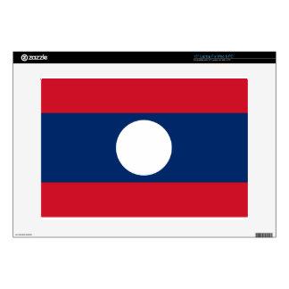 Flag of Laos - Laotian flag - ທຸງຊາດລາວ Skin For Laptop