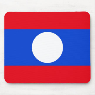 Flag of Laos Mouse Pad