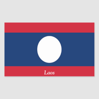 Flag of Laos Stickers