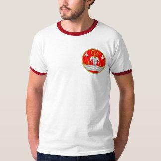 FLAG OF LAOS THREE HEAD ELEPHANT T-Shirt