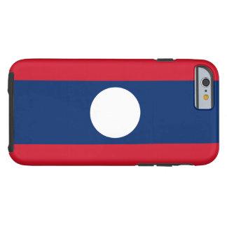Flag of Laos Tough iPhone 6 Case