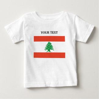 Flag of Lebanon Baby T-Shirt