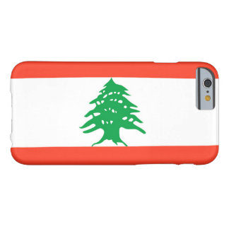 Flag of Lebanon Barely There iPhone 6 Case