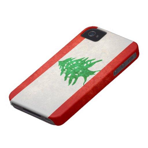 Flag of Lebanon Blackberry Case