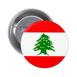 Flag of Lebanon Button
