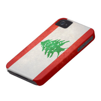 Flag of Lebanon iPhone 4 Cover