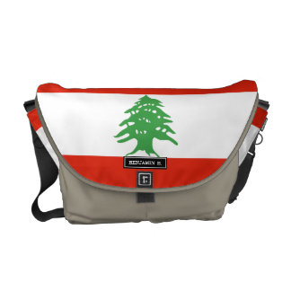 Flag of Lebanon Courier Bag