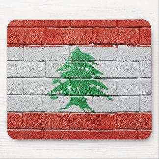 Flag of Lebanon Mousepads