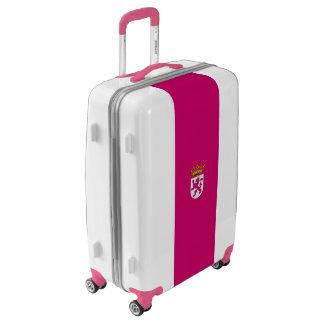 Flag of Leonese Nationalism Luggage (Medium)