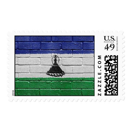 Flag of Lesotho Postage
