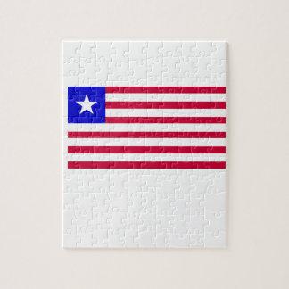 Flag of Liberia Jigsaw Puzzle