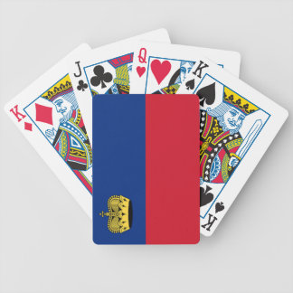 Flag of Liechtenstein Bicycle Playing Cards